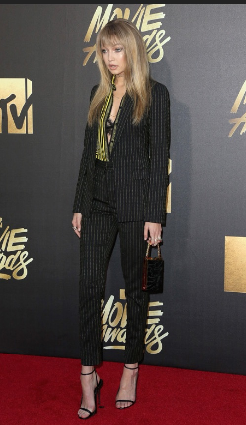 GIGI HADID MTV MOVIE AWARDS 2016