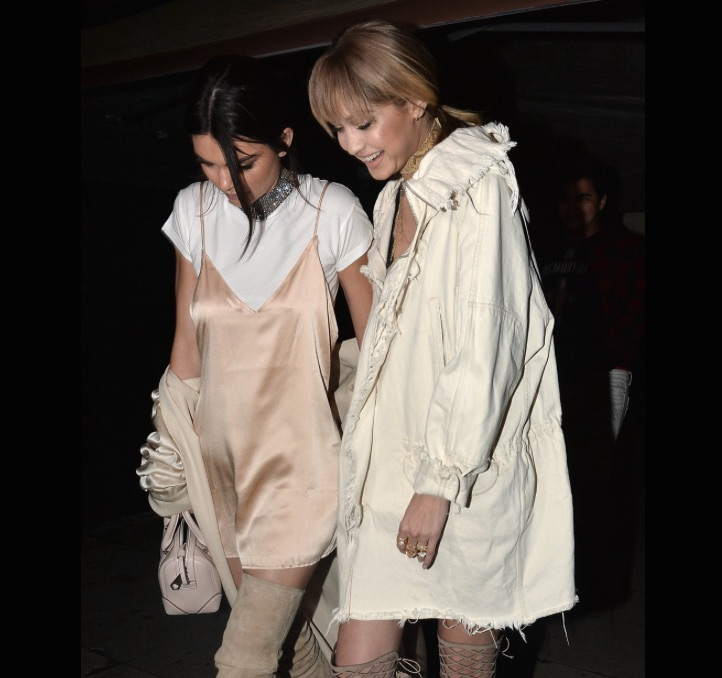 KENDALL JENNER AND GIGI HADID AFTER PARTY MTV MOVIE AWARDS 2016