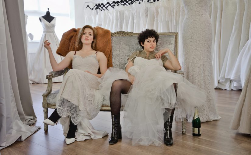 Holliday Grainger and Alia Shawkat appear in Animals by Sophie Hyde, an official selection of the Premieres program at the 2019 Sundance Film Festival. Courtesy of Sundance Institute | photo by Tamara Hardman.   All photos are copyrighted and may be used by press only for the purpose of news or editorial coverage of Sundance Institute programs. Photos must be accompanied by a credit to the photographer and/or 'Courtesy of Sundance Institute.' Unauthorized use, alteration, reproduction or sale of logos and/or photos is strictly prohibited.