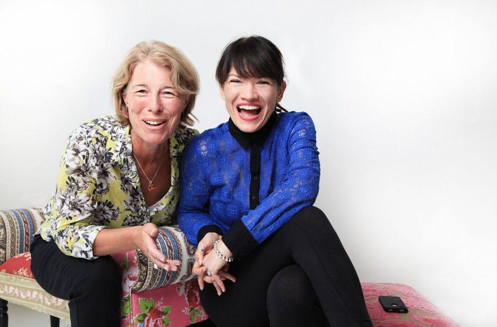 JOHANNA VON FISCHER AND TESSA COLLINSON