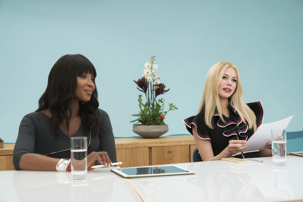 Naomi Campbell and Michelle Williams star in I FEEL PRETTY