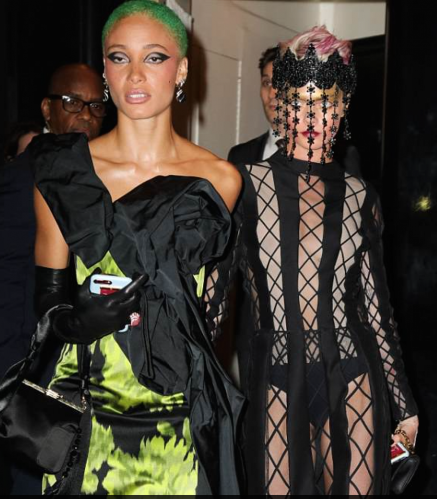 Adwoa Aboah and Cara Delevigne